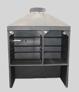 Freestanding Combination Braai