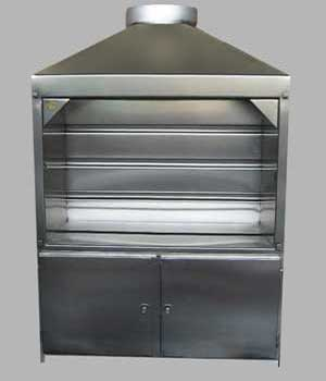 1200mm Freestanding Braai for Gas