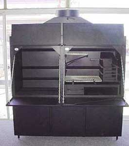 1650mm Freestanding Combination Braai
