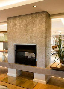 850mm Double-sided fireplace