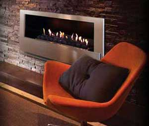 Minet Ventfree Built-in fireplace