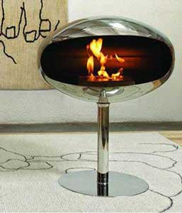 Terra Pedastal Bio-fuel fireplace