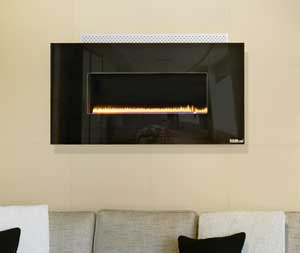 Plasmafires Wall Hanging gas fireplace