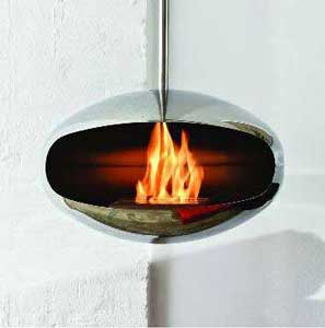 Aeris Coccoon Stainless steel Bio-Fuel Fire