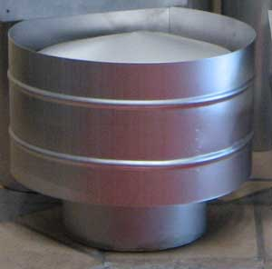 Stainless steel Cyclone cowl
