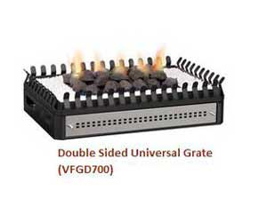 Ventless Double-sided Grate