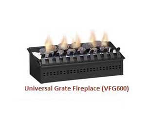 Ventless Gas Grate
