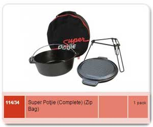 Enameled Super Potjie
