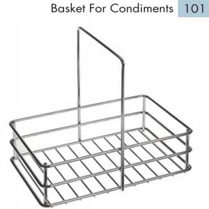 S/S Condiment Basket